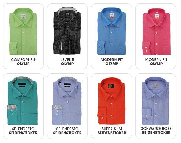20% Rabatt auf Hemden von Olymp (39 Euro), Seidensticker (ab 29 Euro) und Casa Moda - minus 5 Euro mit Gutschein