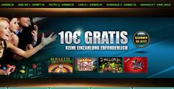 7Kasino: 10 Euro kostenlos für alle Neukunden