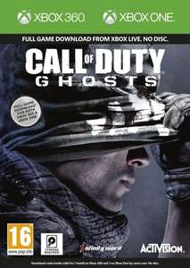 Call of Duty Ghosts Xbox One + Xbox 360