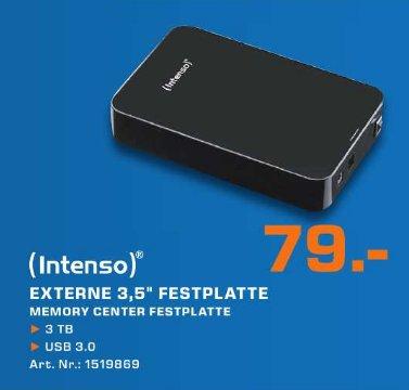 Intenso Memory Center 3TB USB 3.0 externe Festplatte im Saturn Münster