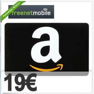 freenetMobile SIM-Karte + 19€ AMAZON (150 Minuten + 150 SMS + 300 MB)