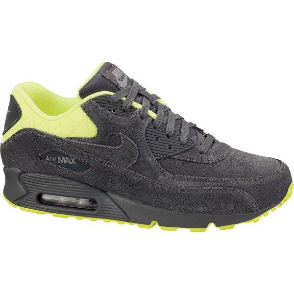 Nike Air Max 90 Premium dark grey/volt/medium grey in 44½, 45½, 46 und 47 für 84,15€ inkl. Versand bei KarstadtSports