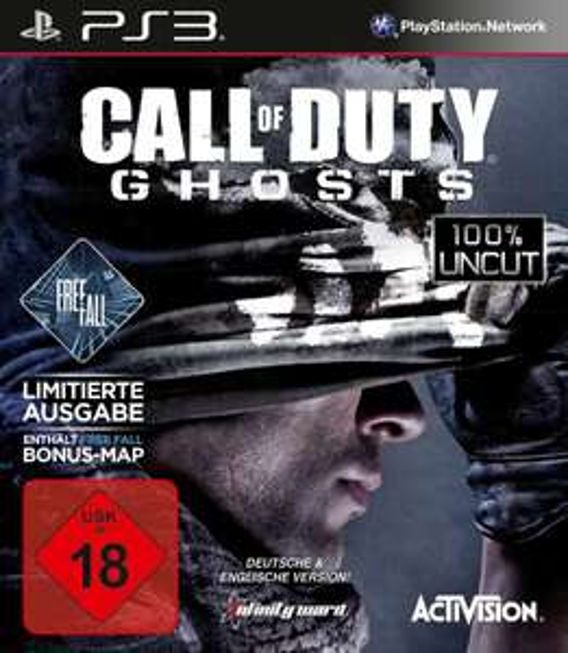 LOKAL: Call of Duty Ghosts Limited Edition incl. Freefall für  PS3 & XBox360 für 19€ bei MediaMarkt Berlin Steglitz