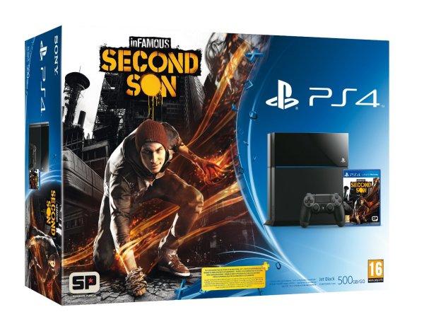 Playstation 4 Infamous Second Son Bundle für 426,49€ inkl. Versand (amazon.es)
