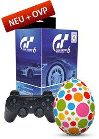 Gran Turismo 6 inkl. DualShock 3 Controller für 55€