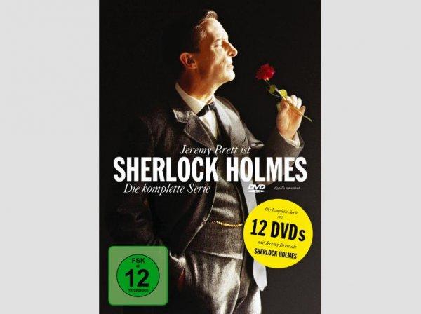 Sherlock Holmes - die komplette Serie / 12 DVDs 26€ inkl. Versand @ Saturn