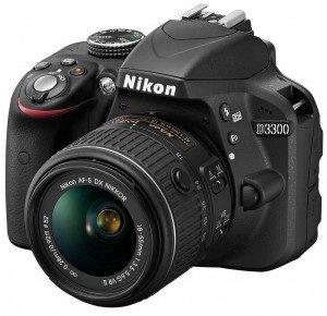 [EBAY] Nikon D3300 Digitalkamera (schwarz) Kit mit AF-S DX 18-55mm VR II Objektiv für 489,- Euro inkl. Versand