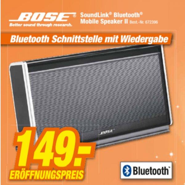 [Lokal] Bose Soundlink Mobile Speaker II - Neueröffnungsangebot