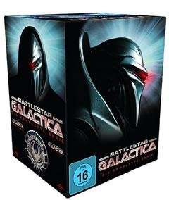 Battlestar Galactica - Season 1-4/Die komplette Serie [Blu-ray]  für 39,60 EUR