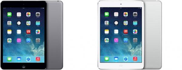iPad mini Retina 16 GB Spacegrau 4G für 399 Euro