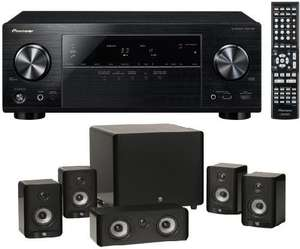Pioneer VSX-528-K 5.1 AV Netzwerk-Receiver AirPlay mit Boston A2310HTS 5.1-Set