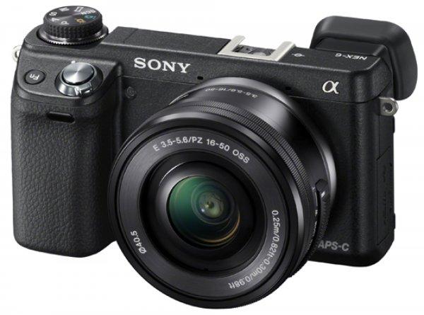 Sony Alpha NEX-6 schwarz mit 16-50mm Objektiv für 499€ inkl. Versand