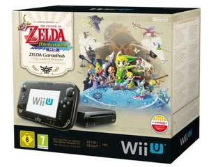 Nintendo Wii U - Konsole, Premium Pack, 32GB, schwarz + The Legend of Zelda@Amazon Blitzangebote