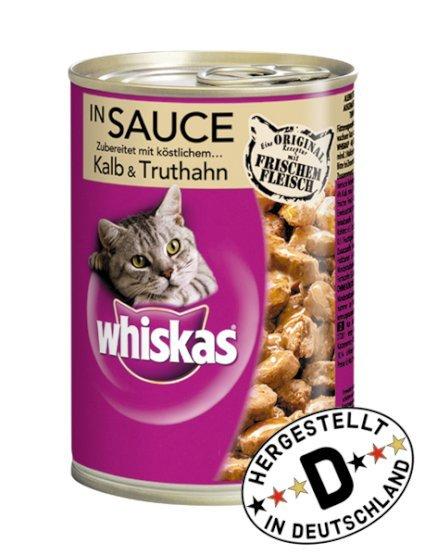 [Fressnapf.de] -38%: Whiskas 12x400g div. Sorten nur 5,88€ - 10€ Gutschein ab 80€ MBW