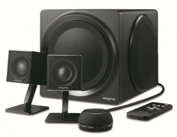 Creative T4 Wireless 2.1 Lautsprechersystem mit Bluetooth und NFC für 215€ @Amazon.co.uk