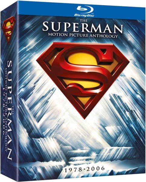 (UK) The Superman Anthology Collection [8 x Blu-ray] für €21.09 @ Zavvi
