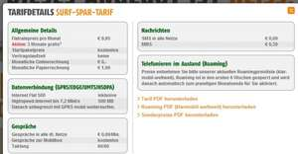 Klarmobil Datenflat 500 MB 3 Monate gratis testen - Startpaket gratis