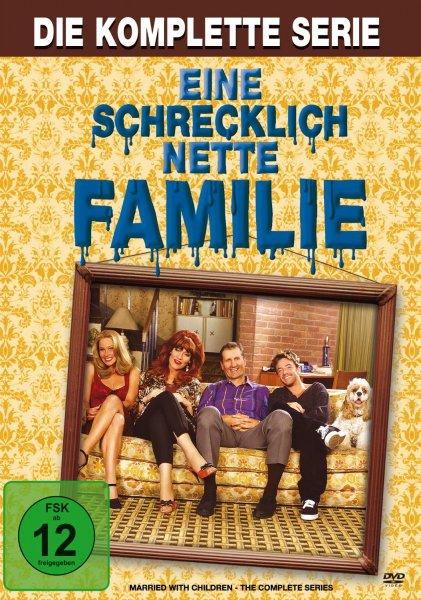 Eine schrecklich nette Familie - Die komplette Serie [33 DVDs] für 54,97 € inkl. VSK @Amazon.de