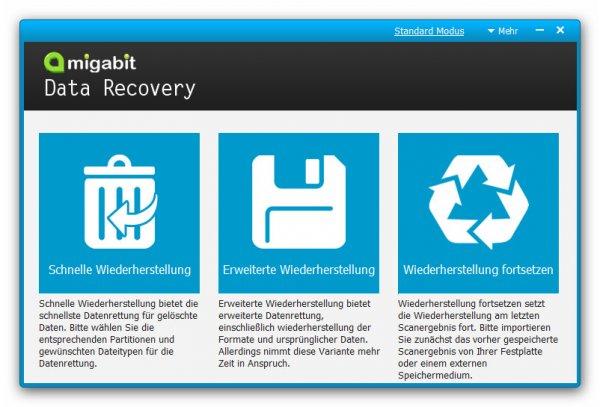 Amigabit Data Recovery kostenlose Vollversion Download