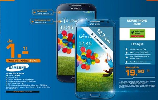 [LOKAL] Samsung Galaxy S4 bei Saturn Lübeck Dänischburg für 279€