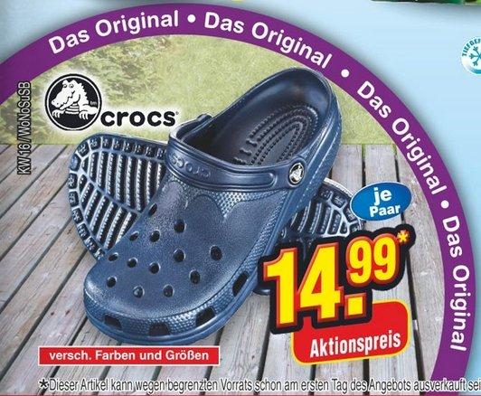Original Crocs für 14,99 Euro offline @ Netto (ohne Hund)