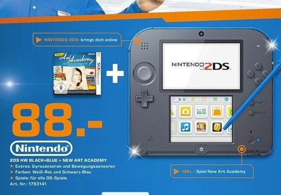 [Saturn Bergisch-Gladbach] Nintendo 2DS + New Art Academy