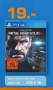 [Saturn Bergisch-Gladbach] Metal Gear Solid 5: Ground Zeroes (PS4/XBox One)