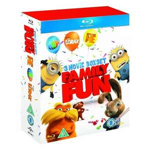 (UK) Hop / Despicable Me / Dr Seuss' The Lorax (3 x Blu-Ray) für 14,61€ @ play (YouwantitWegotit)