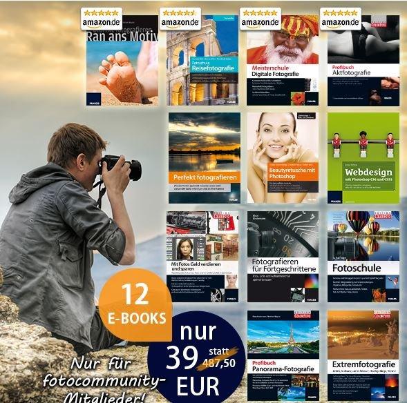 12 Fotografie Ebook für Fotocommunity-Mitglieder