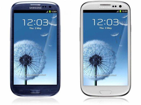 """Samsung™ - Smartphone """"Galaxy S3 i9300"""" (4.8"""" 1280x720,8MP/AF/LED Cam,16GB,NFC,Android 4.3) in Blau oder Weiß für €203,95 [@Smartkauf.de]"""