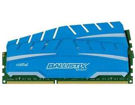 Crucial Ballistix Sport XT 16GB Kit DDR3 PC3-14900  (Nächster Preis: 123,40€)