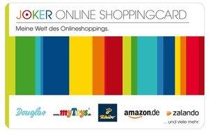 [16.4.2014] Gut 4% Rabatt auf Amazon, Zalando und andere Geschenkgutscheine bei Joker Online Shopping Code Aktion