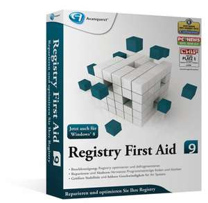 Avanquest Registry First Aid 9 (DE) (Win)