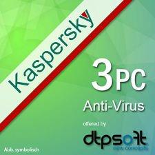 [ebay] Kaspersky Anti Virus 3PC 18,90€
