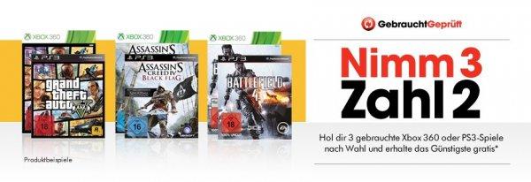 [Bundesweit online/offline] N3Z2 - auf alle gebrauchten 360/PS3 Spiele!