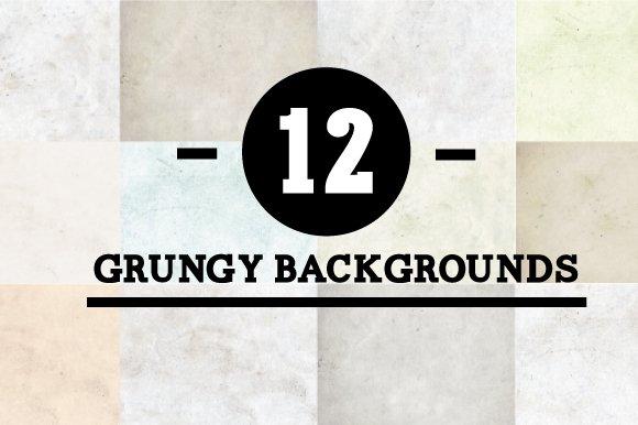 Creative Market - Nur diese Woche: 12 kostenlose Grunge-Texturen - dürfen auch kommerziell genutzt werden