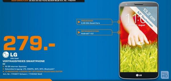 LG G2 16GB für 279€ Lokal [Saturn Stuttgart]
