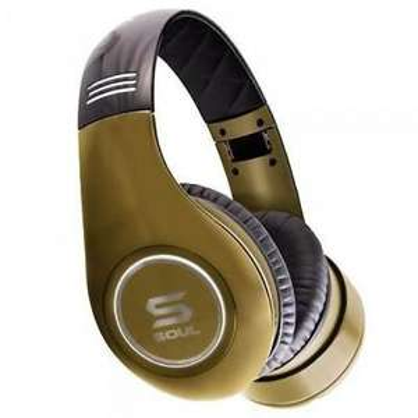Kopfhörer Soul by Ludacris SL300 gold [Mediamarkt]