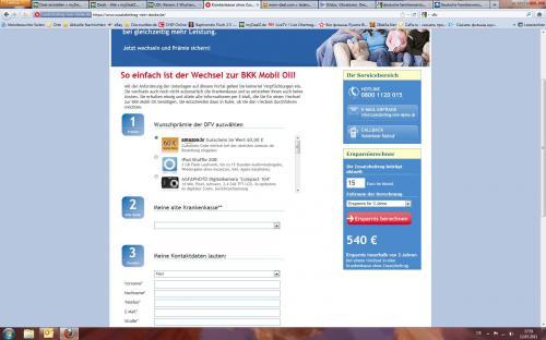 60 € Amazon-Gutschein bei Krankenkassen-Wechsel