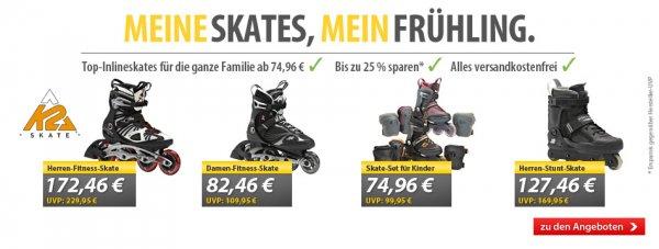K2 Skates Kinder/Herren/Damen bei MeinPaket.de