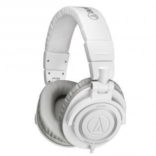 Audio-Technica ATH-M50 Promotion in rot und weiß