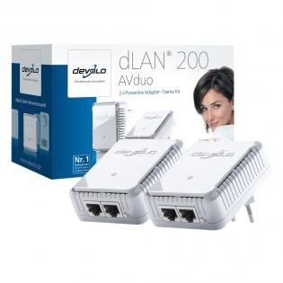 devolo dLAN 200 AVduo Starter Kit für 33,33€ @Redcoon