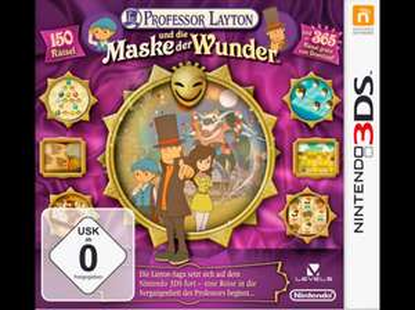 Nintendo 3ds - Professor Layton und die Maske der Wunder 16,99€ @saturn online