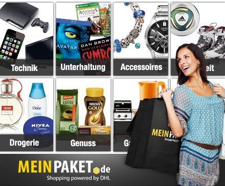 14,99 statt 30 Euro für Lifestyle-Produkte bei meinpaket.de – Technik, Freizeit, Mode, Haus, Garten und vieles mehr