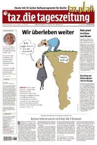 [Zeitung Download] Die morgige TAZ (17.04.2014) kostenlos als PDF Download