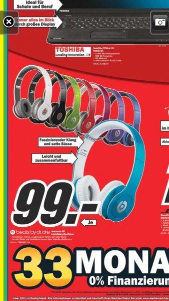 Beats by Dr. Dre  Solo HD  -  alle Farben - Media Markt online und offline - 99,00 Euro ohne VSK