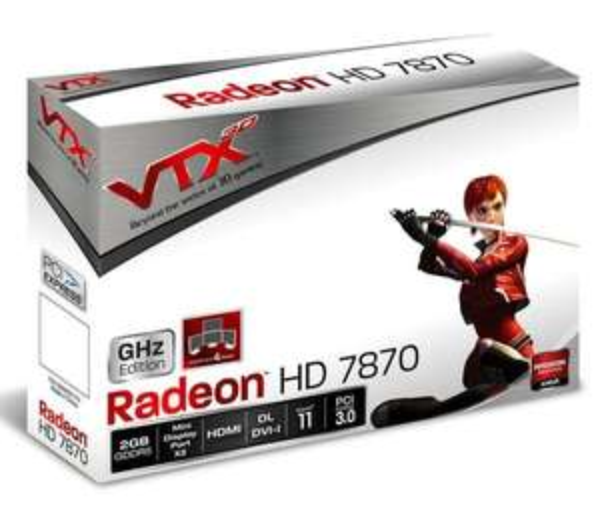 VTX3D Radeon HD 7870 GHz Edition, 2GB GDDR5 für 115€ inkl Versand