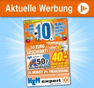 HEM Expert: 50,- € Geschenkkarte für 40,- € kaufen (16.04.-19.04.)