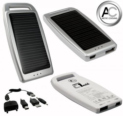 Solarladegerät Arctic Cooling C1 Mobile für Handy/MP3-Player
