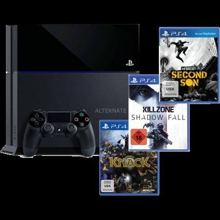 Sony Playstation 4 + Killzone + Second Son + Knack, für 508,95€ @Alternate